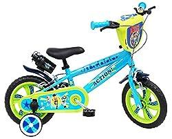 Children's bicycle 12 inch EVA 2 brakes Toy Story 4 Light Blue 12 Steel MTB Slooping Nylon Fork: 12 Steel MTB Nylon Wheels: Plastic Plastic Gears: EVA Soft Aguarnity: DC I A or Z.24 PE85 mm Pedals: MTB Plastic Movement: Nylon Headset: Nylon Freewheel...