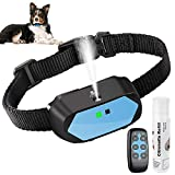 Dog Bark Collar, Anti Barking Device with Citronella Spray Stop Dog Bark Control Training Collar No Electric Shock Deterrent Stopper Dogs Collars