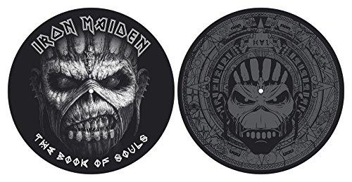Iron Maiden 'Book Of Souls' Plattenspieler Slipmat Set (