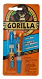 Gorilla Super Glue, Two 3 Gram Tubes, Clear, (Pack of 1)