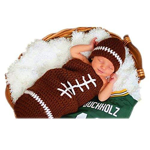 crochet football hat - 4