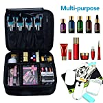 Beauty Shopping Relavel Travel Makeup Train Case Makeup Cosmetic Case Organizer Portable Artist Storage