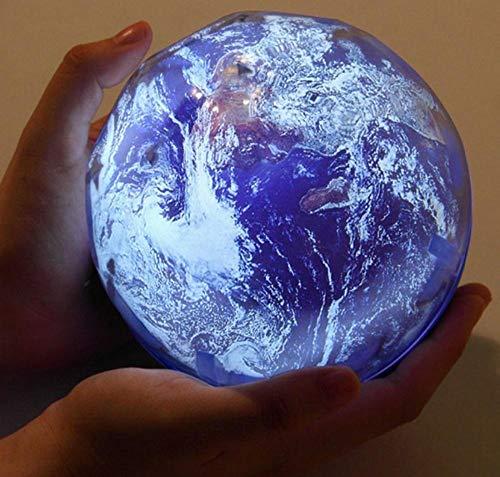 Usb Aa Alimenté Par Batterie Led Veilleuse Ciel Étoilé Terre Tourner Lampe De Projecteur Nouveauté Bébé Lumière Colorée Pour Le Nouvel An Cadeau-Univers Tourner