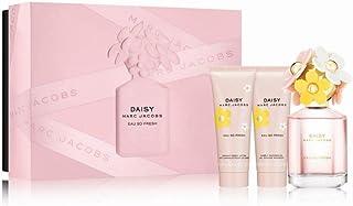 Marc Jacobs Daisy Eau so Fresh 3 Piece Set (Eau de Toilette Spray, Shower Gel,Body Lotion)