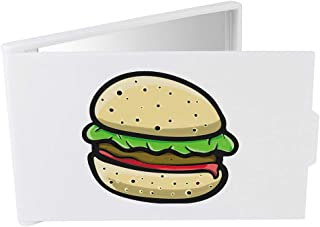 'Burger' Compact / Travel / Pocket Makeup Mirror (CM00024318)