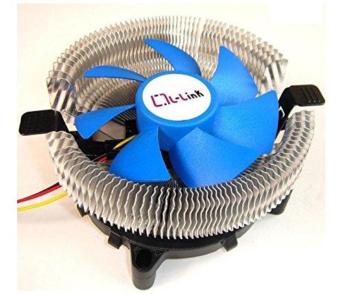 L-Link LL-8877 - Ventilador para CPU, Color Azul