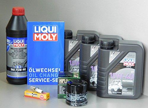 Moteur Fun Sports Kit d'entretien Quad ATV Online X7.5 d'inspection Filtre à Huile Bougie d'allumage.