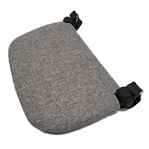 CaCaCook Baby-Kinderwagen-Zubehör, Fußteil für Baby-Kinderwagen, grau