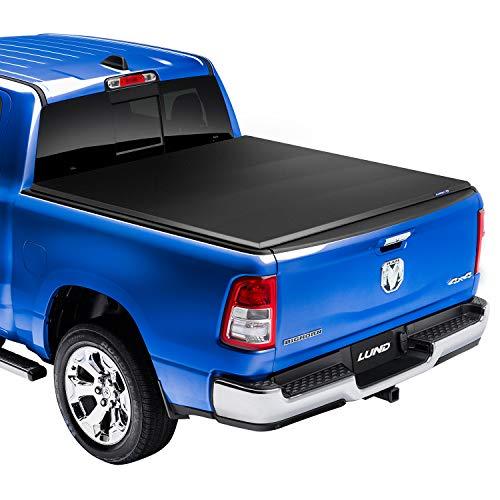 Lund Genesis Elite Tri-Fold Soft Folding Truck Bed Tonneau Cover | 95877 | Fits...