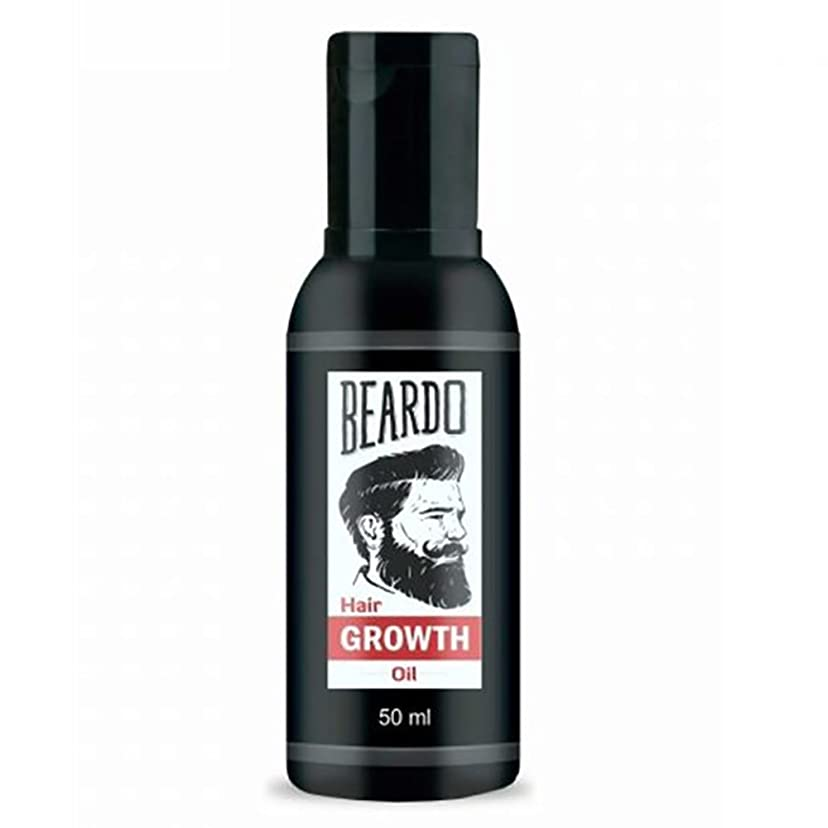 真向こう戸棚エッセイBeardo Beard and Hair Growth Oil 50 ml With Natural Ingredients - Rose and Hibiscus Oils