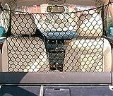 Tekshopping® - Red separadora de malla ancha para el transporte de animales (perros y gatos) en el coche, 120×90cm