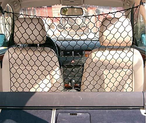 TEKSHOPPING® DIVISORIO in Rete 100x88cm per Auto Maglie Larghe Trasporto Cani E Gatti Animali
