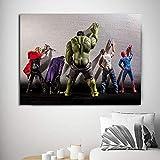N / A Film Leinwand Malerei Bild Superheld Charakter Poster