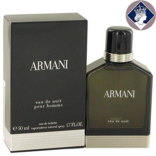 Armani Homme Eau De Nuit Eau De Toilette Vaporisateur 50ml