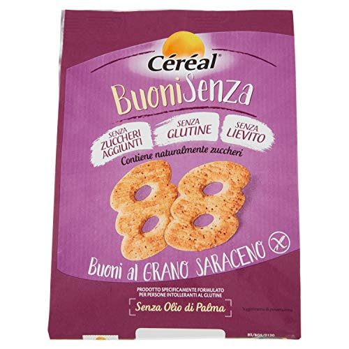 Cereal de trigo sarraceno Al BuoniSenza Galletas Sin Gluten 200g