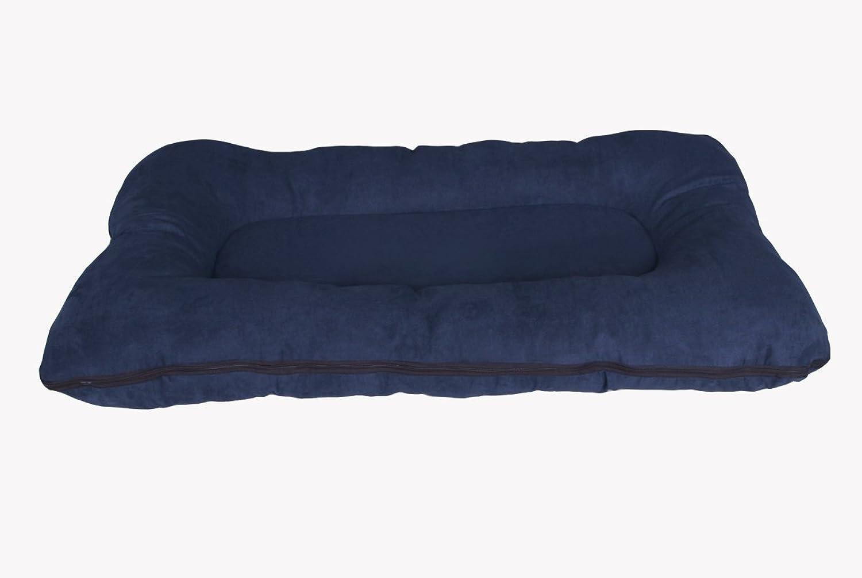 Hundebett   Hundekissen XXL 120x80 cm, dunkelblau, Hundematratze B016YANRQ8