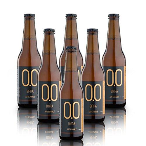 alternativa® - Birra Artigianale Analcolica - 0.0% vol (confezione 6 bottiglie 330 ml)