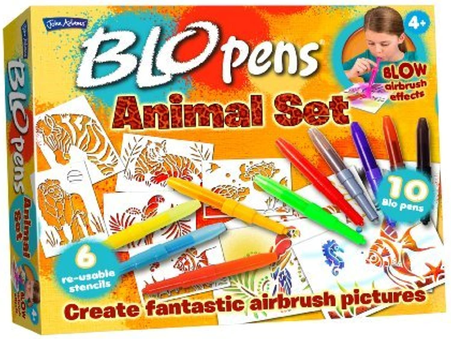 BLO pens Activity Set Animals by John Adams