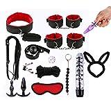 A0127 Adult Fun 15PCS / Set Bed Game Play Set Bindende Sexspiele Spielzeug Für Paare Kits