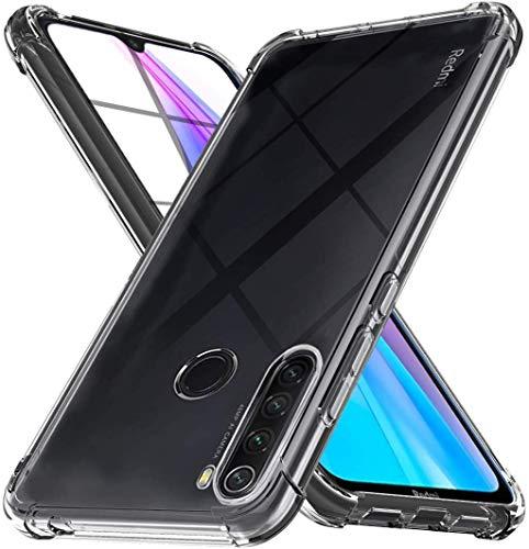 Capa Protetora Para Xiaomi Redmi Note 8T Tela De 6.3 Polegadas Capinha Case Transparente Air Anti Impacto Proteção De Silicone Flexível - Danet