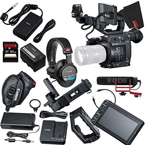 Canon EOS C200 Cinema Camera (EF-Mount) with Accessories Bundle