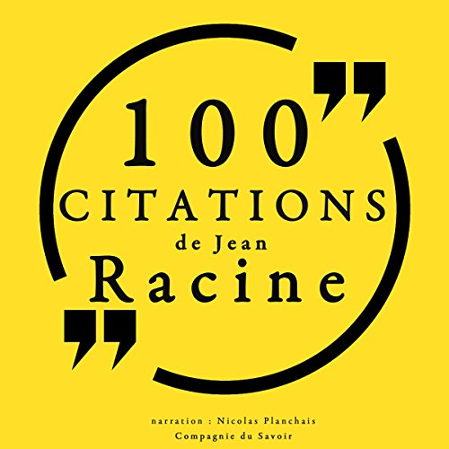 100 citations de Jean Racine audiobook cover art