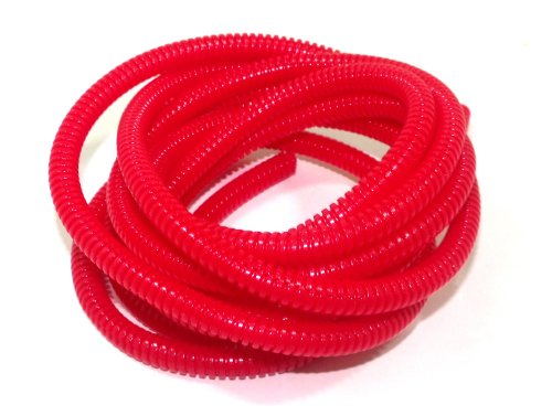 Taylor Cable 38194 Red Convoluted Tubing