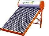 GreenLife GI Solar Water Heater, 100 L (Orange)
