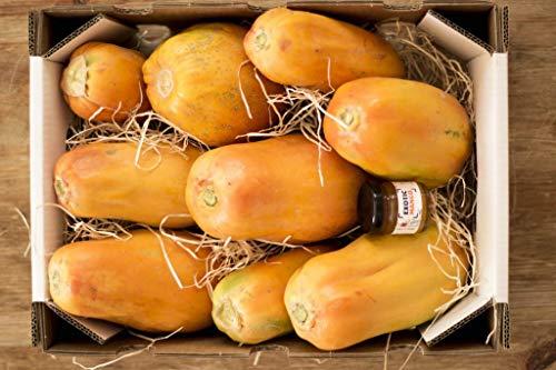 Caja de Papaya-directamente de nuestra finca a tu mesa