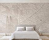papel pintado 3D personalizado Pared Wallpaper Hojas De Color Beige Textura En Relieve dormitorio cocina 3D empapelar Fotomural Decoración damasco murales decoración de paredes moderna