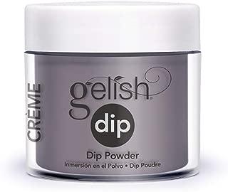 Harmony Gelish Nail Dip Powder Met My Match .8oz 1610057 Purple Grey Creme