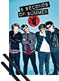1art1 5 Seconds of Summer Poster (91x61 cm) Glasses, Don't