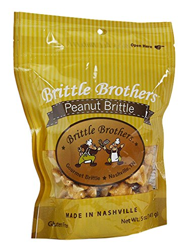 Brittle Brothers Peanut Brittle, 5 Ounce