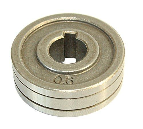 WELDINGER Drahtführungsrolle Stahldraht 0,6+0,8 mm (Typ W für MIG/MAG-Schweißinverter ME 200 eco, go, plus)
