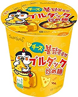 SAMYANG 三養 チーズブルダック 炒め麺カップ (15個入りケース)