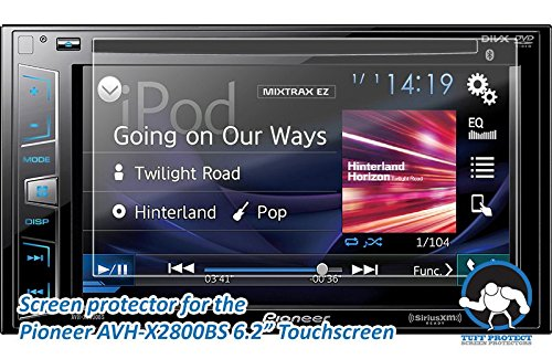 Tuff Protect Anti-Glare Screen Protectors for Pioneer AVH-X2800BS Car Indash DVD Receiver