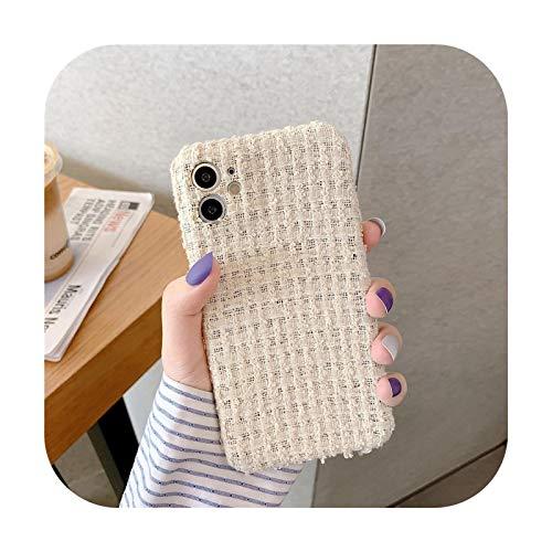 Funda de tela para iPhone 11 Pro Max 7 8 Plus X XR XS Max Back Cover Lindo Suave Capa Para iPhone SE 2020-CW121-1-For-iphoneXSMax