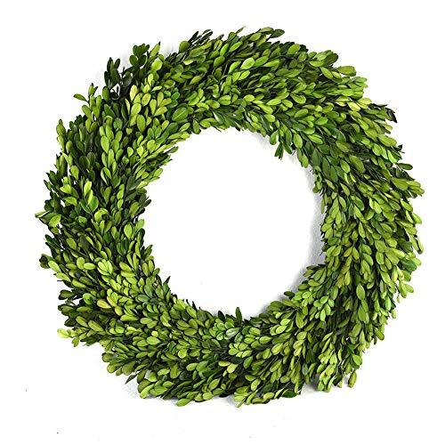 Boxwood Valley Preserved Boxwood Wreath