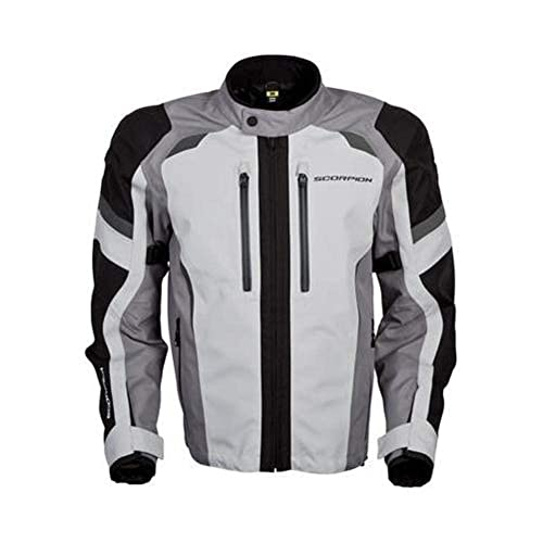 Scorpion Optima Men s Street Motorcycle Jackets - Grey Large f1d31ef8f