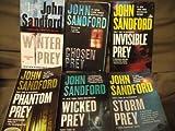 John Sandford 6 Book Set (Lucas Davenport Prey Series: Winter Prey+Chosen Prey+Invisible Prey+Phantom Prey+Wicked Prey+Storm Prey)