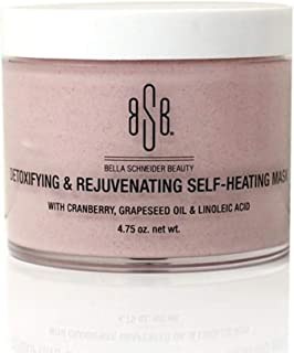 Bella Schneider Beauty LA BELLE DETOXIFYING & REJUVENATING Self-heating Mask - Anti-oxidant Rich Purifying & Hydrating Masque for Women - Face Skin Care Products, 4.75 Oz, MSRP $58.00