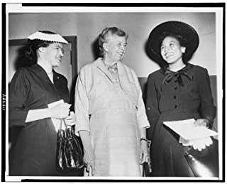 HistoricalFindings Photo: Rosa Parks,Eleanor Roosevelt,Foster,Autherine Lucy 1956