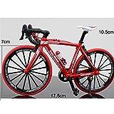 ANCHEER Premium Freizeitfahrrad Elektrofahrrad Modell mit hochwertigen fetten Reifen Rädern (Rot)