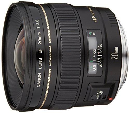 Canon 単焦点レンズ EF20mm F2.8 USM フルサイズ対応