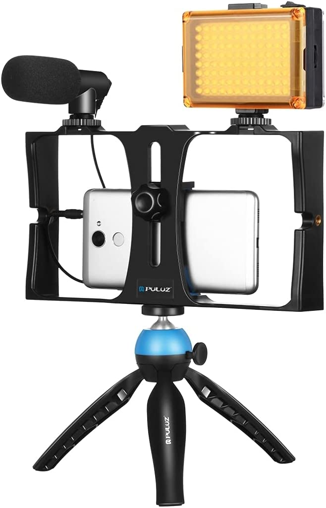 Regular discount Smartphone Video Rig Fort Worth Mall Kit Micro Grip PULUZ with