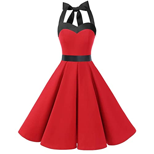 Black Red Dress Amazon Com