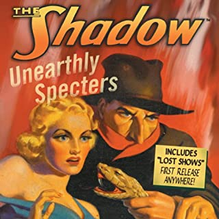 The Shadow audiobook cover art