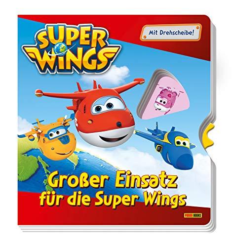 Super Wings: Großer Einsatz für die Super Wings: Pappbilderbuch mit Drehscheibe