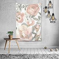 Pink Floral ファッションインテリアデコレーション多機能ベッドルームパーソナリティギフト内壁ハンギングルームカーテンギフトウォールアートファッション新館ウェディングギフトかわいい風景10925