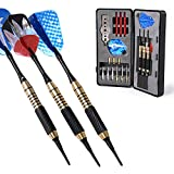 WIN.MAX W.M Darts Nice Packing Box 18/20 Grams Darts Set (Soft Tip & Steel Tip)